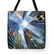 Downtown Sunstream Tote Bag