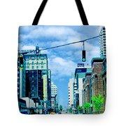 Downtown Union Ave Memphis Tn Tote Bag