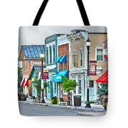 Downtown Waterville Tote Bag