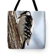 Downy Woodpecker 4 Tote Bag