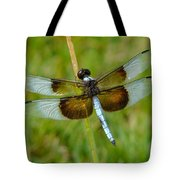Dragon Fly Grass Tote Bag