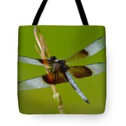 Dragon Fly Green Tote Bag
