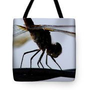 Dragon On The Wire Tote Bag