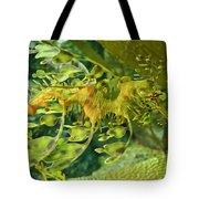 Dragon Seahorse Tote Bag