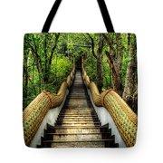Dragon Steps Tote Bag