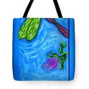 Dragonfly And Bee Tote Bag