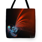 Dragonfly On A Flower Tote Bag