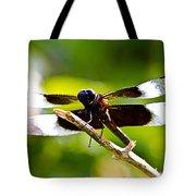 Dragonfly Stalking Tote Bag