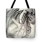 Dragonheart - Bw Tote Bag