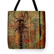 Dragons Wall  Tote Bag by Empty Wall