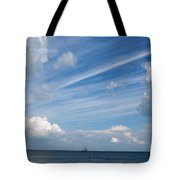 Drama In The Sky Tote Bag