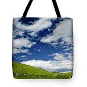 Dramatic Big Sky Tote Bag