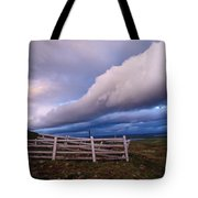 Dramatic Cloud Formations Tote Bag