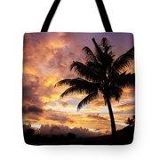 Dramatic Fiji Sunrise Tote Bag