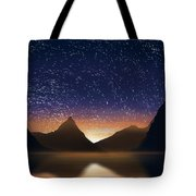 Dramatic Landscape  Tote Bag