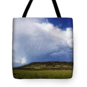 Dramatic Storm Over Table Rock Tote Bag