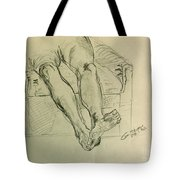 Drawing Class. Legs And Feet Tote Bag