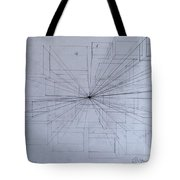 Drawing Class. Perspective Tote Bag