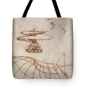 Drawings By Leonardo Divinci Tote Bag