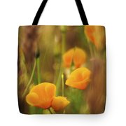 Dream Poppies Tote Bag