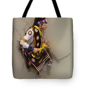 Pow Wow Dream Time Tote Bag