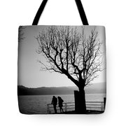 Dreaming In Front Of The Lake Tote Bag