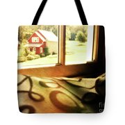Dreams From The Window Seat Tote Bag
