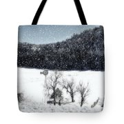 Dreams Of Snow  Tote Bag