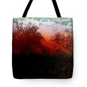 Dreamscape Sunset - Abstract Tote Bag