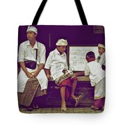 Dressed And Ready Tote Bag