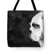 Dressed Up Dog Tote Bag