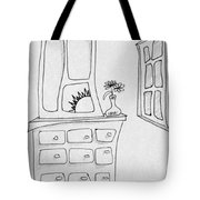 Dresser And Window Tote Bag