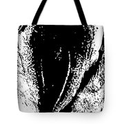 Dried Codfish Back B W Tote Bag