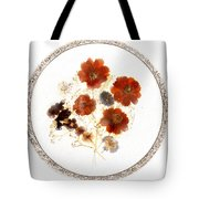 Dried Flower Art Tote Bag