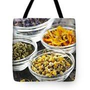 Dried Medicinal Herbs Tote Bag