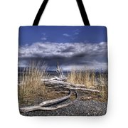 Driftwood By The Sea Tote Bag