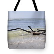Driftwood In The Surf Tote Bag