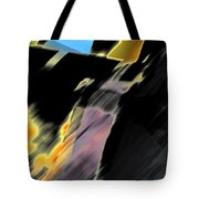 Drive By Abstract Tote Bag