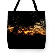 Drive By Sunset Tote Bag