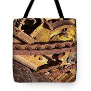 Drive Chain Tote Bag