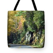 Drive In The Mountains Tote Bag