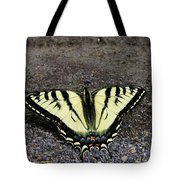 Driveway Butterfly Tote Bag