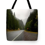 Driving The Pass Tote Bag