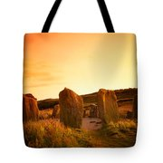 Drombeg Stone Circle, Near Glandore, Co Tote Bag