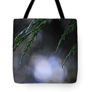 Drops In The Forest Tote Bag