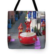 Drumming For The Wedding Tote Bag