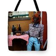 Drunk Werewolf Diner Tote Bag