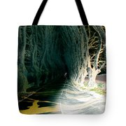 Drunken Night Drive Tote Bag