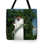 Dry Land Lighthouse 1 Tote Bag