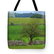 Dry Stone Wall And Twisted Tree Tote Bag